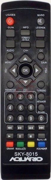 Controle remoto aquario 5000, 6000, pro eletronic, Tomate cod.ref. CR5000 - 1321
