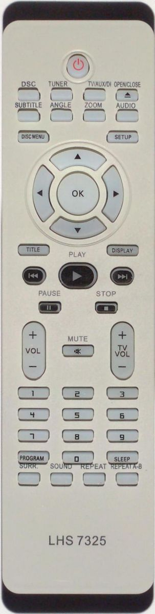 Controle remoto Home Theater da Philips HTS3090
